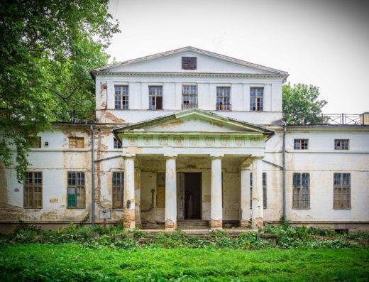 Foto/Pałac w Szymanowie/ leszekmarkiewicz.pl
