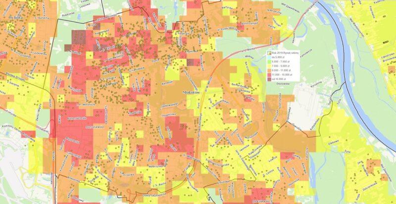 Dzielnice Warszawy: Mokotów - mieszkania i ceny