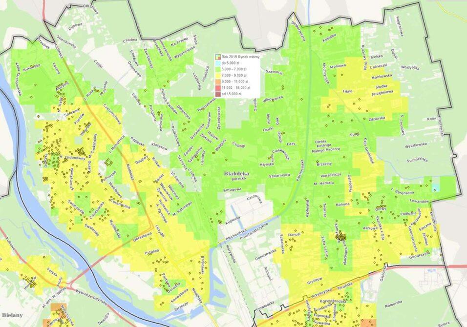 Dzielnice Warszawy: Białołęka - mieszkania i ceny