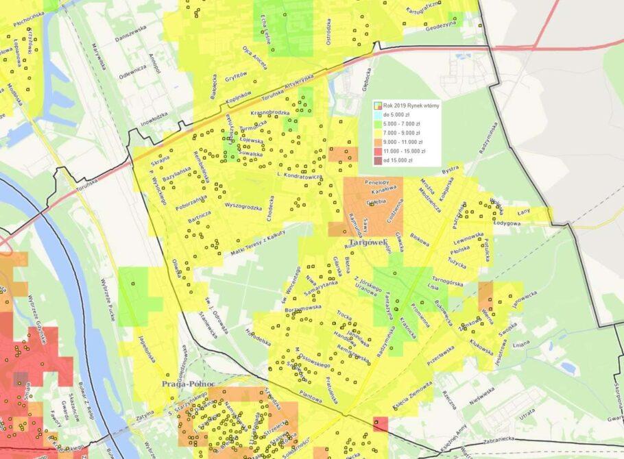 Dzielnice Warszawy: Targówek - mieszkania i ceny