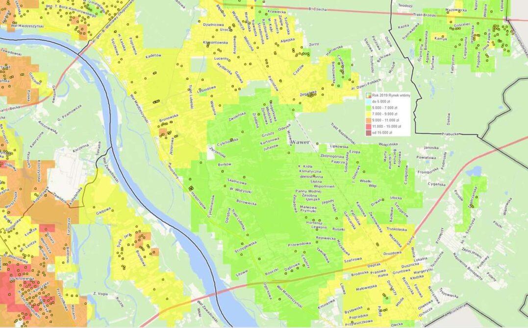 Dzielnice Warszawy: Wawer - mieszkania i ceny