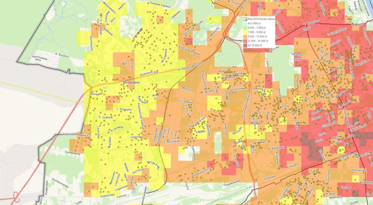 Dzielnice Warszawy: Bemowo - mieszkania i ceny