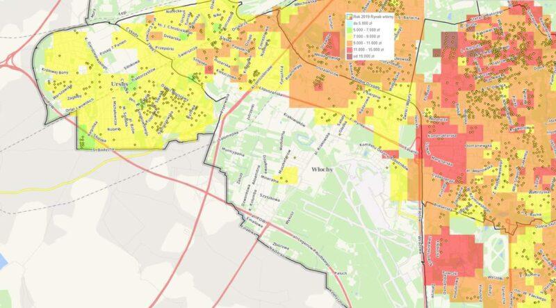 Dzielnice Warszawy: Włochy - mieszkania i ceny