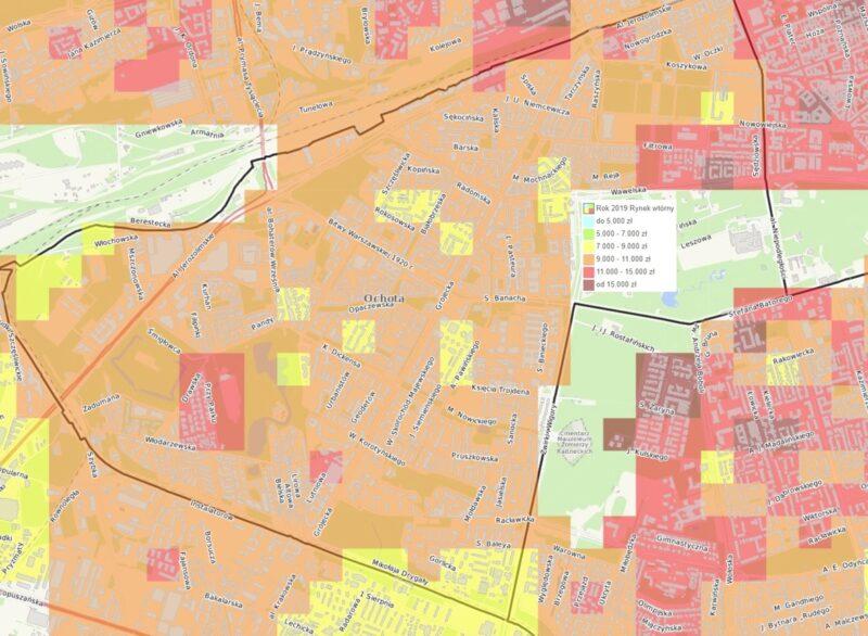 Dzielnice Warszawy: Ochota - mieszkania i ceny