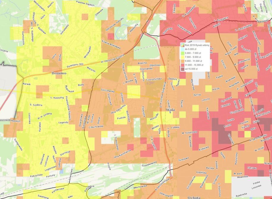 Dzielnice Warszawy: Wola - mieszkania i ceny