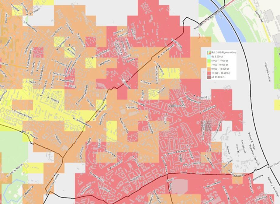 Dzielnice Warszawy: Żoliborz - mieszkania i ceny